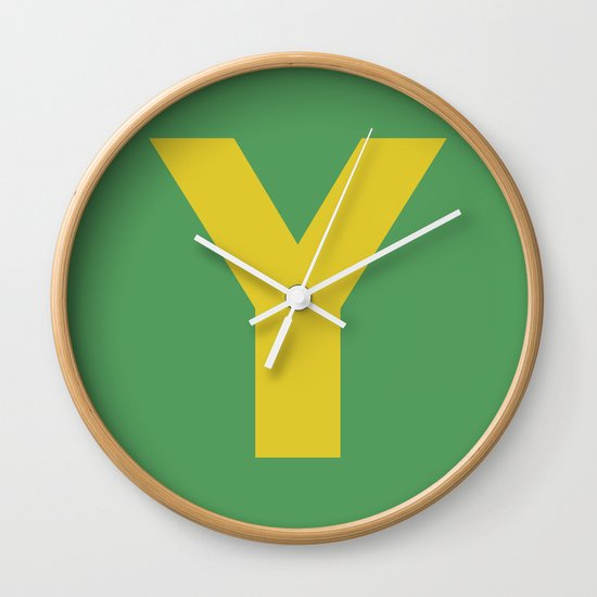 Y is for... Wall Clock