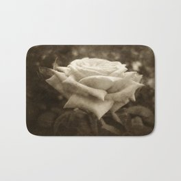 Pink Roses in Anzures 6 Antiqued Bath Mat