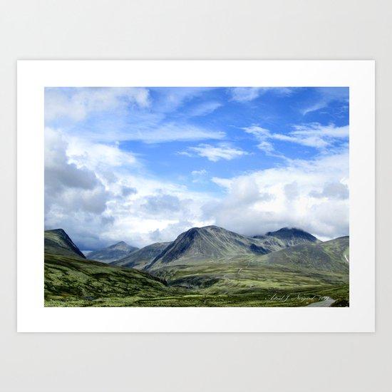 Rondane - Norway Art Print
