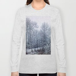 snow trees III Long Sleeve T-shirt