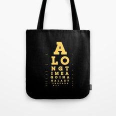 Jed Eye Chart Tote Bag
