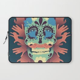 Skull and Hands Laptop Sleeve
