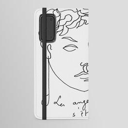 Jean Cocteau Homme  Android Wallet Case