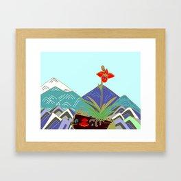 this little blaze Framed Art Print