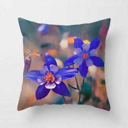Colorado State Flower Throw Pillow
