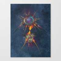 dreamcatcher Canvas Prints featuring Dreamcatcher by jbjart