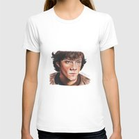 sam winchester T-shirts featuring Jared Padalecki/Sam Winchester by Londonhazz