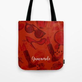 FASHION STYLE RED Tote Bag