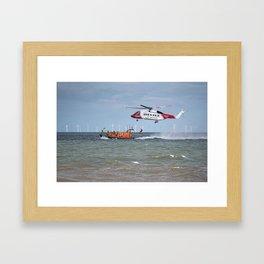 Rhyl Air Sea Rescue Framed Art Print
