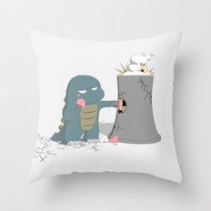 Godzelato! - Series 4: Yes gelato. No nukes. Throw Pillow