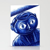frank Stationery Cards featuring Frank by Unaitxo