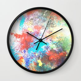 faded background Wall Clock