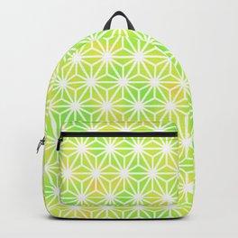 traditional patterns hemp pattern green Backpack