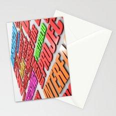 design poster Stationery Cards