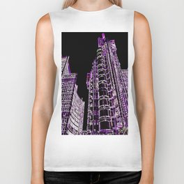 Willis Group and Lloyd's of London Abstract Biker Tank
