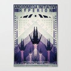 Hyperion Recruitment Canvas Print