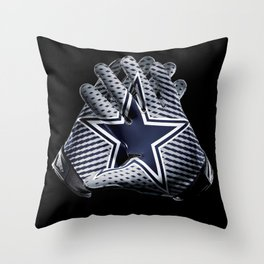 Dallas Gloves Throw Pillow