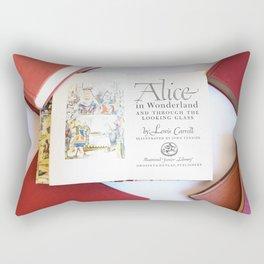 Alice in Wonderland 3 Rectangular Pillow