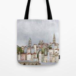 Porto landscape Tote Bag