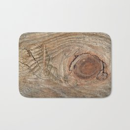 Wood with knot Bath Mat