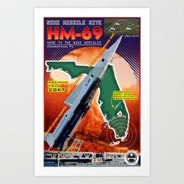 HM-69 Missile Site Art Print