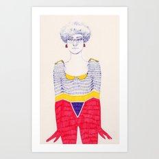 Unevenness Art Print