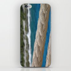 Rope by the sea iPhone & iPod Skin