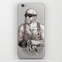 engineer iPhone & iPod Skins featuring Engineer by Kata (koomalaama)