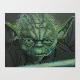 """YODA"" Canvas Print"