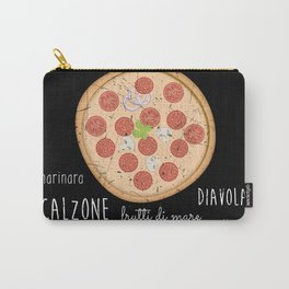 Pizza Poster Carry-All Pouch
