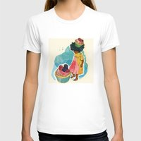 sprinkles T-shirts featuring Sprinkles on her Cupcake by Carina Crenshaw