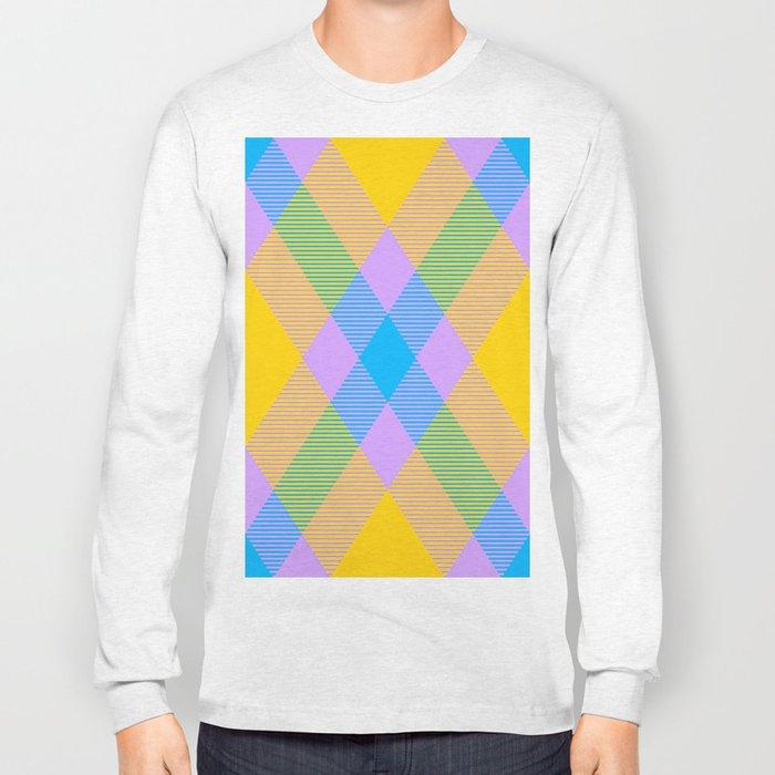 Tartan Pattern 8 Long Sleeve T-shirt