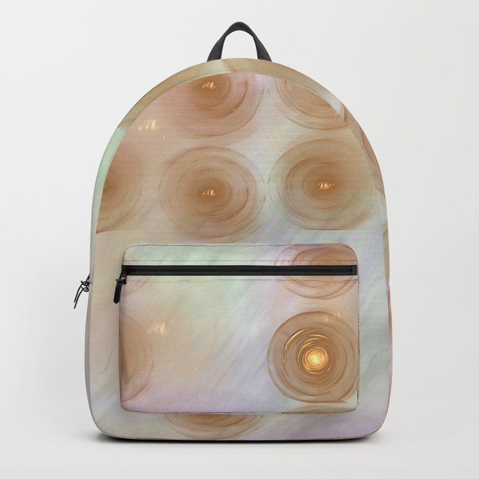 Abstract data crunching Backpack
