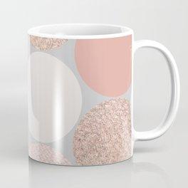 Rose Gold Dots Coffee Mug