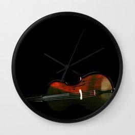 Bass 3 Wall Clock