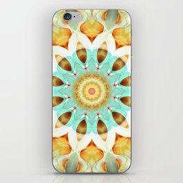 Mandala soft touch iPhone Skin