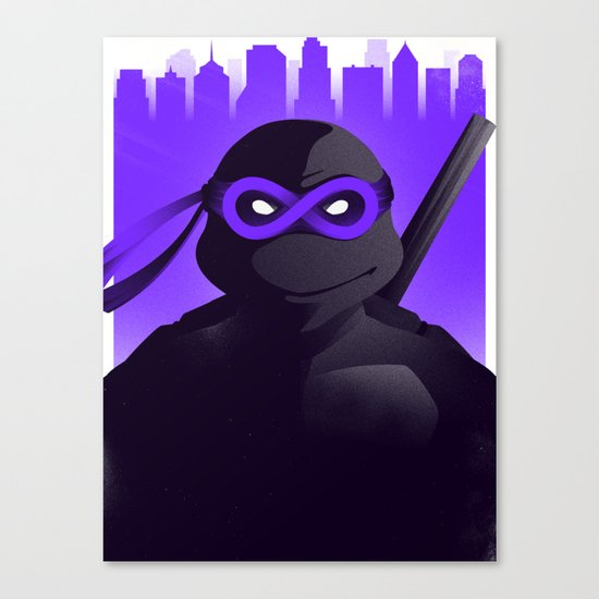 Donatello Forever Canvas Print