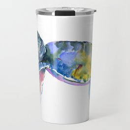 Sea Turtle, children artwork Illustration Travel Mug