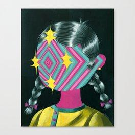Beautiful Dreamer Luna Canvas Print
