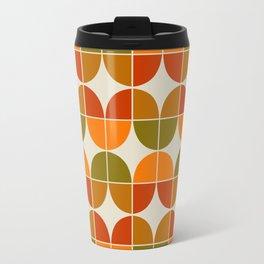 Mid Century Geometric 8 Travel Mug