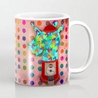 gumball Mugs featuring Gumball Unicorns by That's So Unicorny