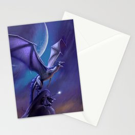Dragon's Flight Stationery Cards