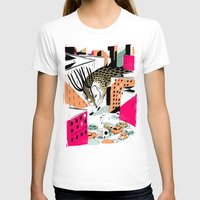 giants T-shirts featuring GIANTS! Deer by Pietari Posti