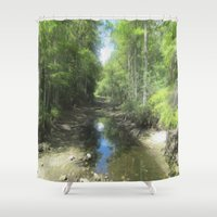 brand new Shower Curtains featuring A Brand New Journey by Gwendalyn Abrams