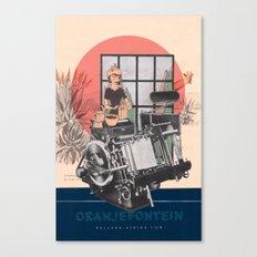 Oranjefontein Canvas Print
