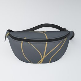 print flower line art 2 Fanny Pack