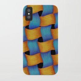 Woven - Pattern Painting iPhone Case