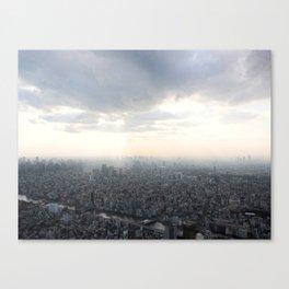 Unlimited city Canvas Print