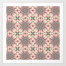 Midsummer Mandala Art Print