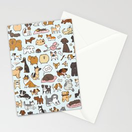 Doggy Doodle Stationery Cards